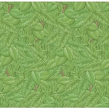 Pacon - Papier stylisé Fadeless, 48 po x 50 pi, feuillage tropical, vert