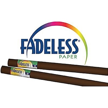 Pacon Fadeless Paper Roll, Brown, 48