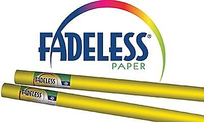 Pacon® Fadeless® Paper Roll, Canary, 24