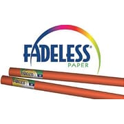 "Pacon® Fadeless® Paper Roll, Orange, 48"" x 12'"
