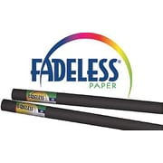 "Pacon® Fadeless® Paper Roll, Black, 24"" x 12'"