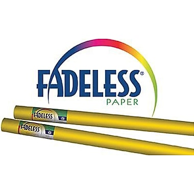 Pacon® Fadeless® Paper Roll, Dark Yellow, 48