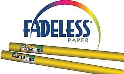 Pacon® Fadeless® Paper Roll, Dark Yellow, 48