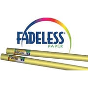 "Pacon® Fadeless® Paper Roll, Sunshine Yellow, 48"" x 50'"