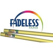 "Pacon® Fadeless® Paper Roll, Sunshine Yellow, 48"" x 12'"
