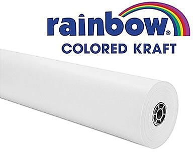 Rainbow® Colored Kraft Duo-Finish® Paper, 36