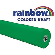"Pacon® Rainbow® 100' x 36"" Colored Kraft Paper Roll, Brite Green"
