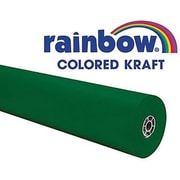 "Pacon® Rainbow® 100' x 36"" Colored Kraft Paper Roll, Emerald"