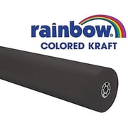 "Pacon® Rainbow® 100' X 36"" Coloured Kraft Paper Roll, Black"