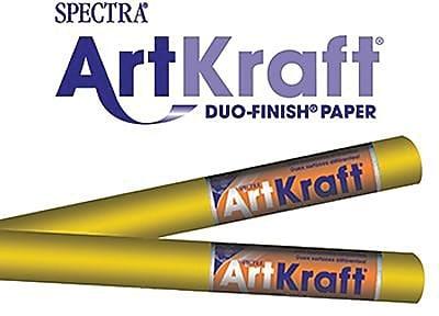 Pacon® Spectra® Art Kraft® Paper Roll, Autumn Gold, 48