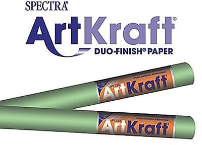 Pacon® Spectra® Art Kraft® Paper Roll, Lite Green, 48