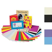 """Pacon® Card Stock Array, Assorted, 11""""(W) x 8 1/2""""(L), 100 Sheets"""