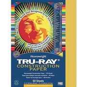 "Pacon Tru-Ray Construction Paper 18"" x 12"", Gold, 50 Sheets (PAC102998)"