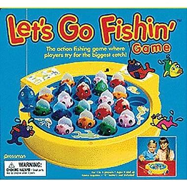 Pressman Toy Skills Game, Let's Go Fishin' (PRE005506)