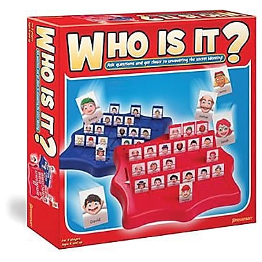 Pressman® Toy – Jeu de société, Who Is It?