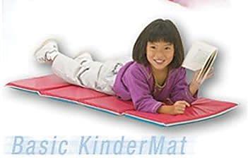 Peerless® Basic Kinder Mat, Red/Blue, 5/8