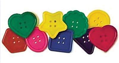 Roylco® Really Big Button, P - 3, 30 Pieces