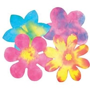 "Roylco® 9"" x 9"" Color Diffusing Paper, Flowers Shape"