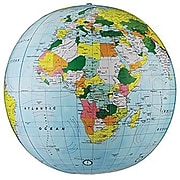 "Replogle Globe® Political Inflate-A-Globe, Light Blue, 16"", 2 EA/BD"