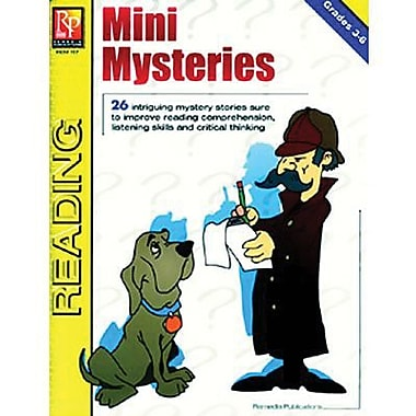 Remedia® Mini Mysteries, Grade 3 - 6 (REM117)