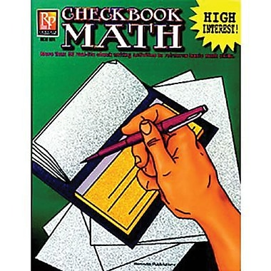 Remedia Checkbook Math, Grade 4 - 12th (REM524)