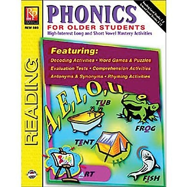 Remedia® Phonics For Older Students Book, Grades 3rd - 8th