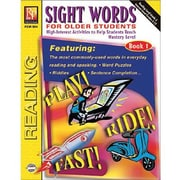 Sight Words For Older Students, Book 1