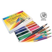 Sargent Art® Coloured Pencil, Assorted, 250/Pack