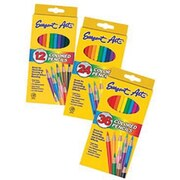 "Sargent Art 7"" Coloured Pencil, Assorted, 12/Set, 120/Pack (SAR227212)"