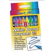 Sargent Art Standard Regular Whiteboard Crayon, 8/box, 96/Pack (SAR350521)