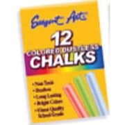 "Sargent Art 3 1/4"" Dustless School Chalks, Assorted, 216/Pack (SAR662010)"