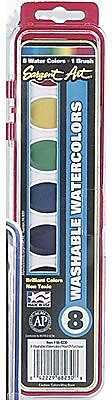 Sargent Art® Art-Time® Washable Semi-Moist Watercolor Set, Assorted