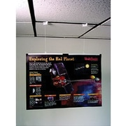 Ceiling Poster Hanging Kits, Large, 8/ST, 3 ST/BD