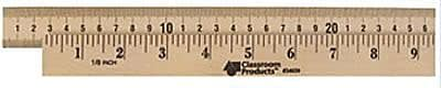 Learning Resources® Wooden Meter Stick, Plain Heads