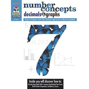 Houghton Mifflin® Math Student Edition Number Concepts, Decimals and Graphs Book, Grades 5th - 8th