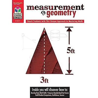 Houghton Mifflin® Math Student Edition Measurement and Geometry Book, Grades 5th - 8th