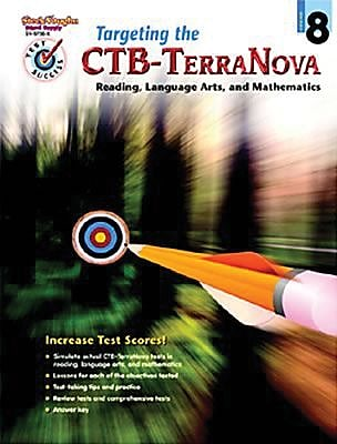 Houghton Mifflin® Test Success Targeting The CTB/Terranova Book, Grades 8th
