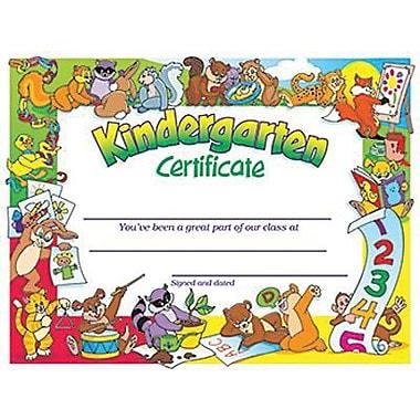 Trend Enterprises Congratulations Kindergarten Certificate
