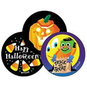 "Trend® Stinky Stickers®, Large Round, 1"" Diameter, Halloween Scented Licorice, 60/Pack"