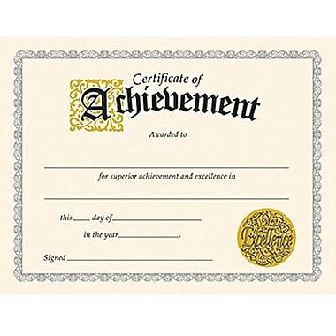 Trend Enterprises Certificate Of Achievement, 8 1/2