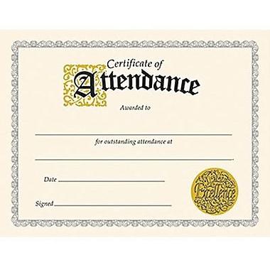 Trend Enterprises Certificate Of Attendance, 8 1/2