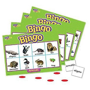 Trend Enterprises® Animals Bingo Game, Grades Pre Kindergarten - 4th
