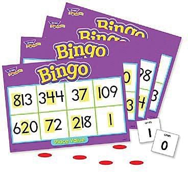 Trend Enterprises® Bingo Game, Place Value