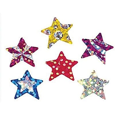 Trend Enterprises Sparkle Stickers, Star Brights, 864/Pack (T-6304)