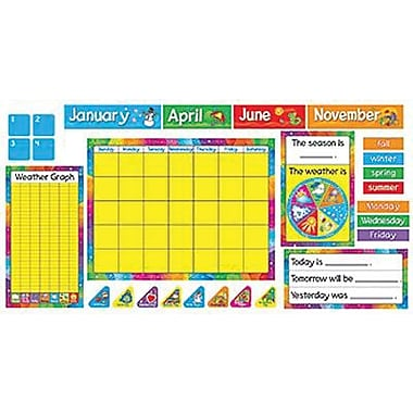 Trend Enterprises Bulletin Board Set, Year Around Calendar, 106/Pack (T-8096)