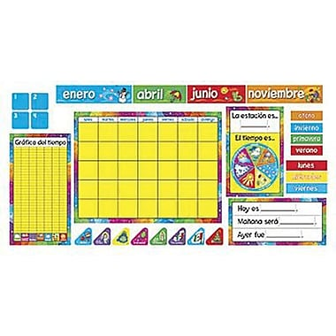 Trend Enterprises® Bulletin Board Set, Calendario Anual (SP)