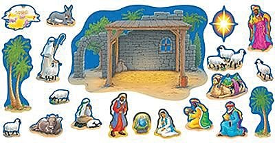 Bulletin Board Sets, Nativity