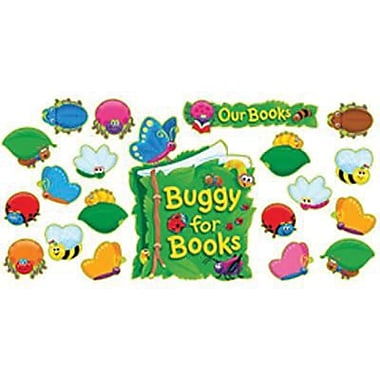Trend Enterprises Bulletin Board Set, Buggy For Books, 34/Set