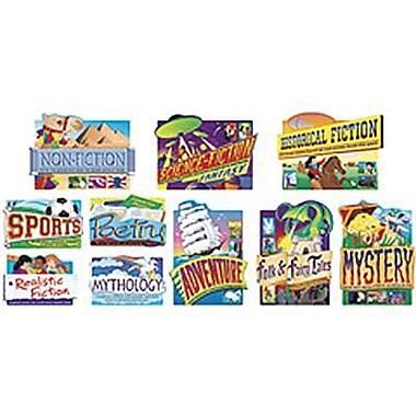 Trend Enterprises® Bulletin Board Set, Reading Genres