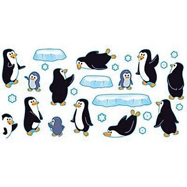 Trend Enterprises Bulletin Board Set, Playful Penguins, 43/Set